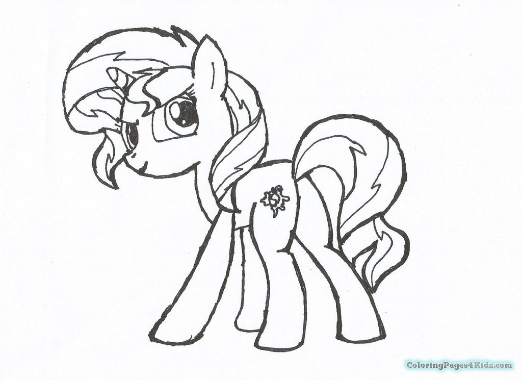 1024x745 My Little Pony Equestria Girls Coloring Pages Sunset Shimmer