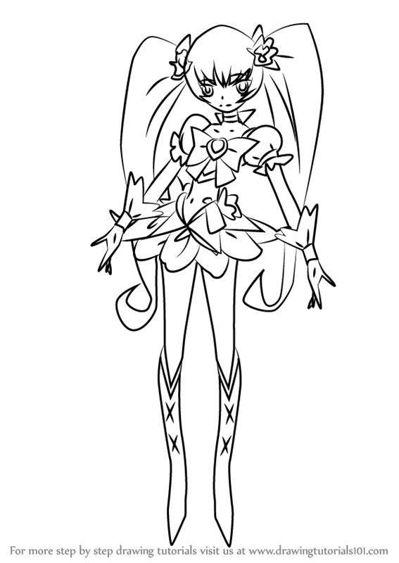 567x800 Learn How To Draw Cure Sunshine From Pretty Cure (Pretty Cure