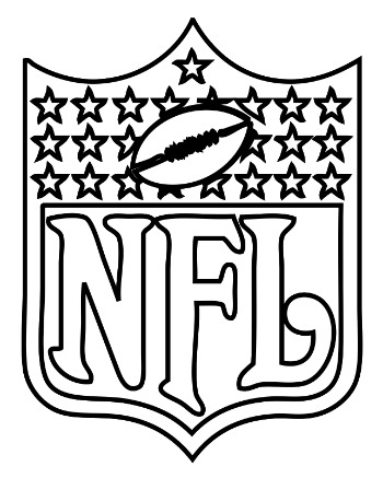 350x437 Nfl Coloring Page For Kids