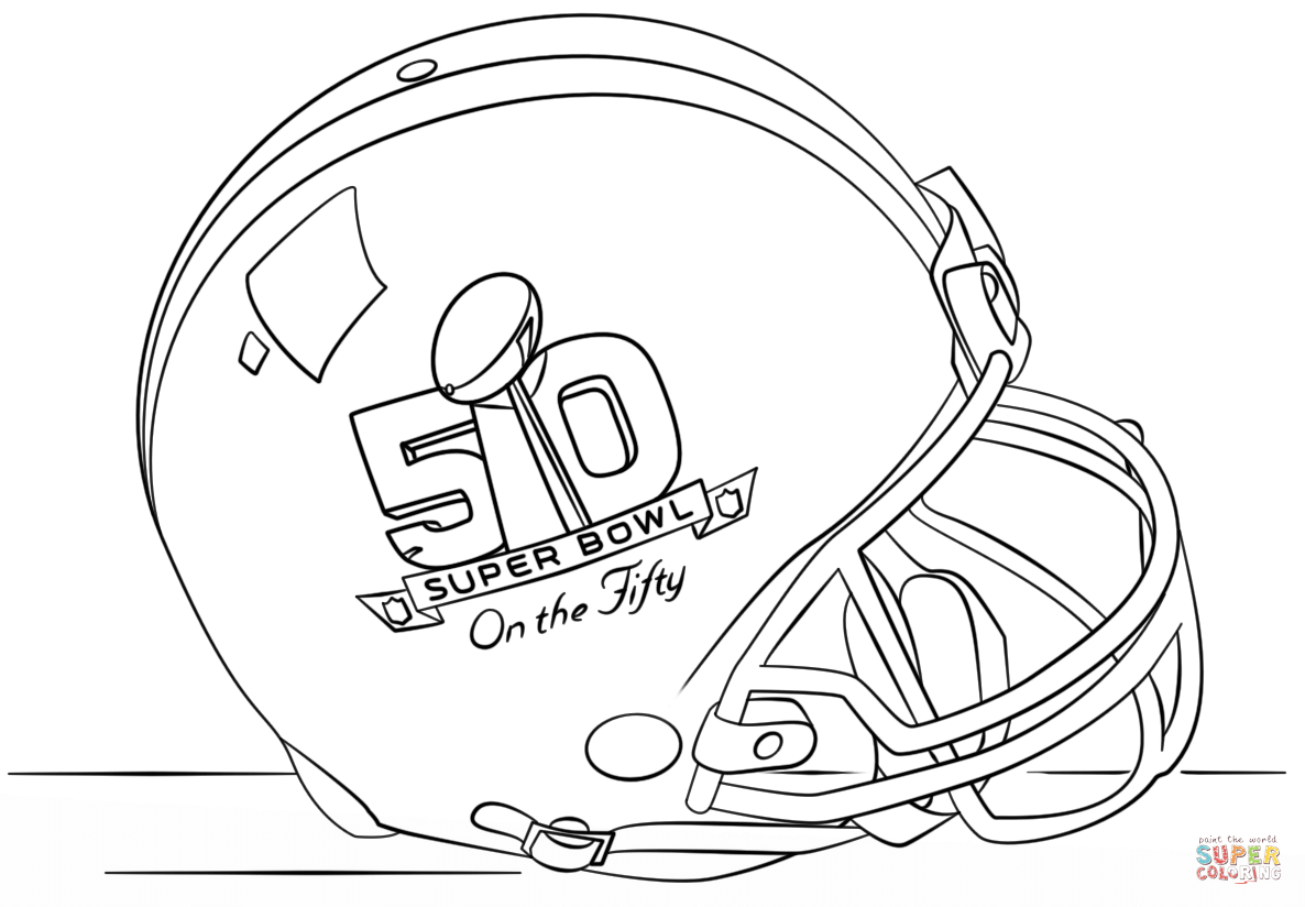 1186x824 Super Bowl 2016 Helmet Coloring Page Free Printable Coloring Pages