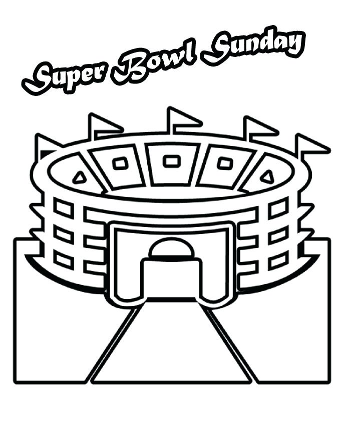 685x852 2017 Super Bowl Coloring Sheets
