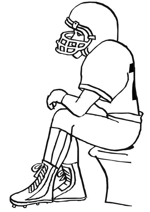 525x739 Super Bowl Player Football Coloring Pages Readin' And Ritin