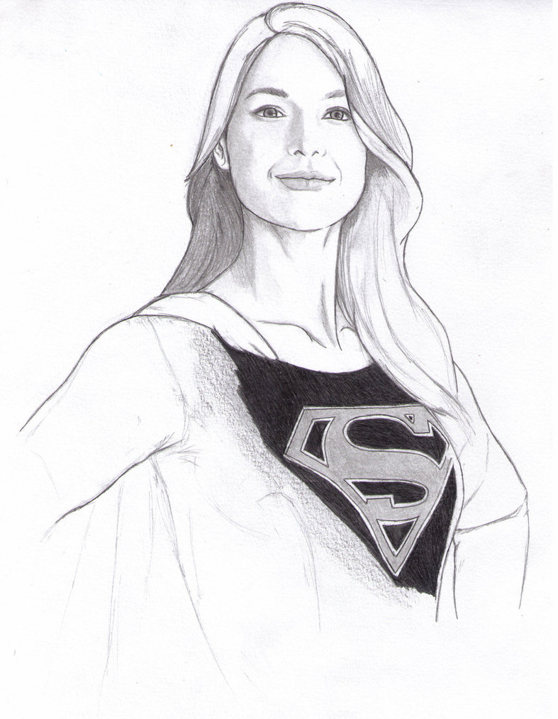 787x1014 Supergirl By Davyjones552