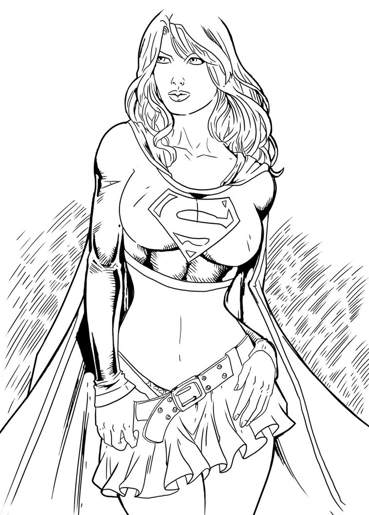 757x1056 Supergirl By Philliecheesie