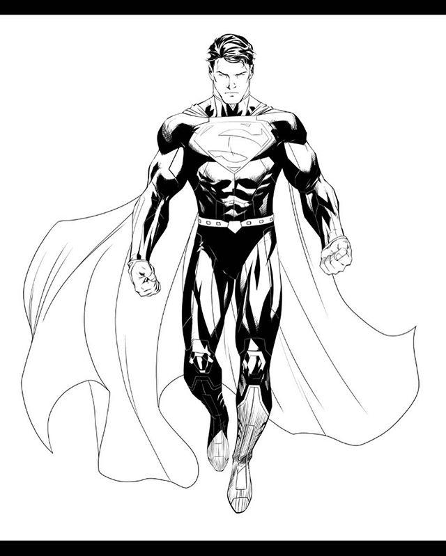 640x799 Superman By Ryan Benjamin Superman Comic