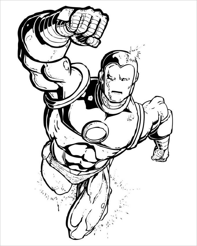 680x850 Incredible Deadpool Coloring Pages Printable Snazzy Incredible