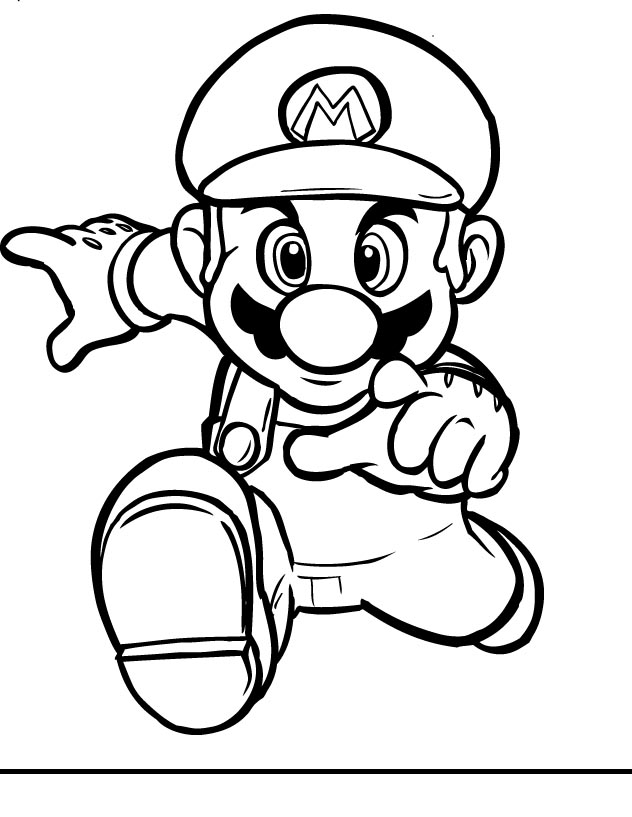 Super Mario Drawing at GetDrawings.com | Free for personal use Super ...