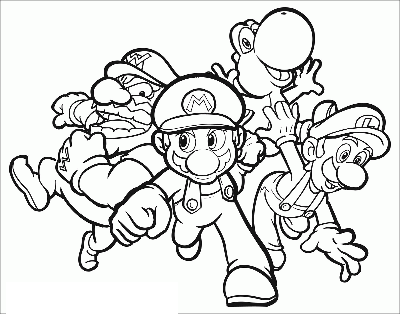 1600x1255 Super Mario Bros