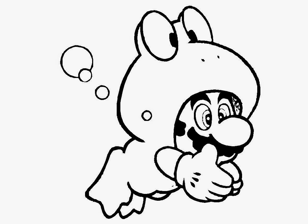 1177x856 Super Mario Bros Coloring Drawing Free Wallpaper Anggela