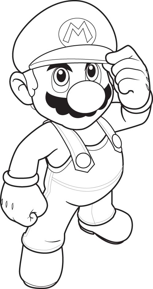 498x939 Super Mario Pictures To Print Preschool For Pretty Coloring Draw