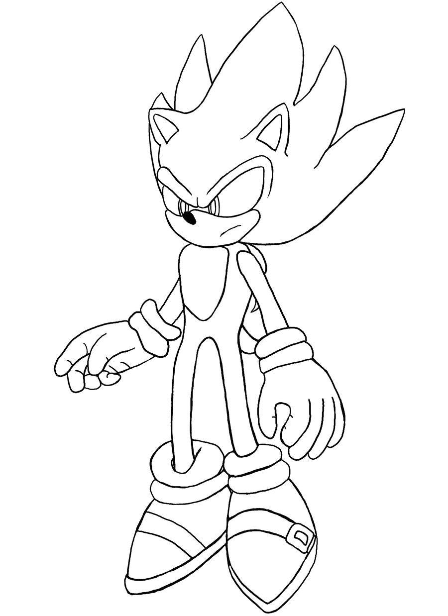 Nett Sonic Shadow Ausmalbilder Zeitgenössisch - Malvorlagen Von ...