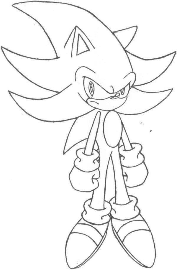 600x916 Super Sonic, Sonic Adventure By Supersonicssjx