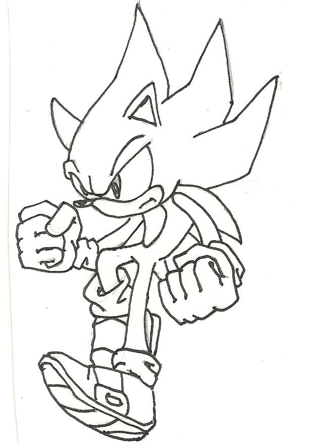 612x884 Super Sonic By Frezzyman