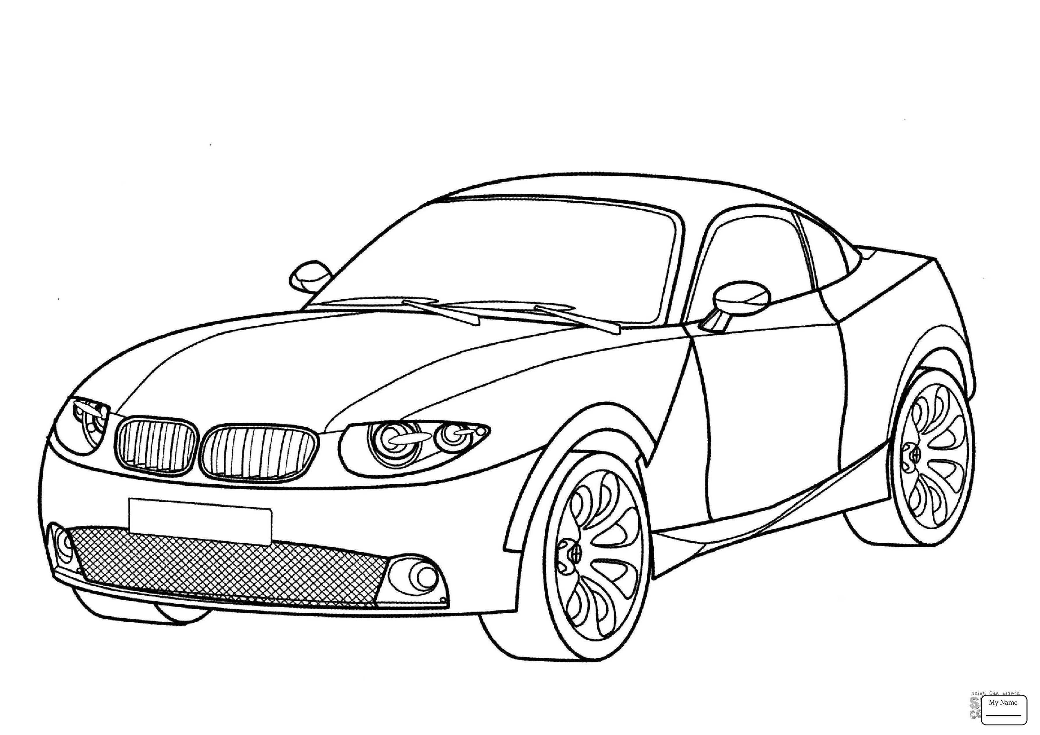 3578x2530 Super Car Bmw 750il Coloring Page For Kids Beautiful Bmw Car