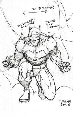 236x381 How To Draw Batman By Jim Lee Superheroes Jim Lee
