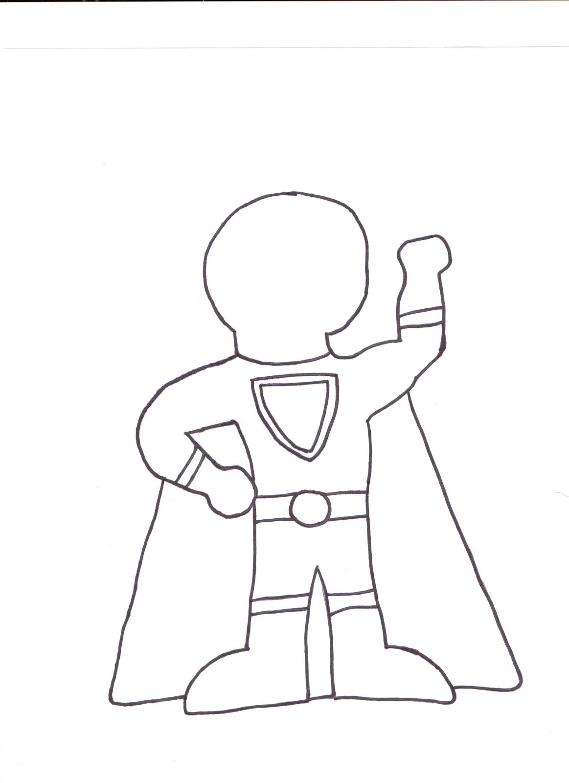 Superhero Cape Drawing At Getdrawings Free For Personal Use