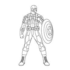 230x230 Top 20 Free Printable Superhero Coloring Pages Online