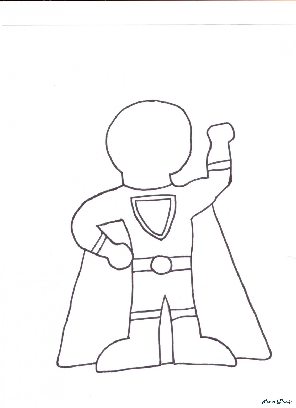 1128x1552 19 Reasons Why Superhero Drawing Template For Kids Is Common