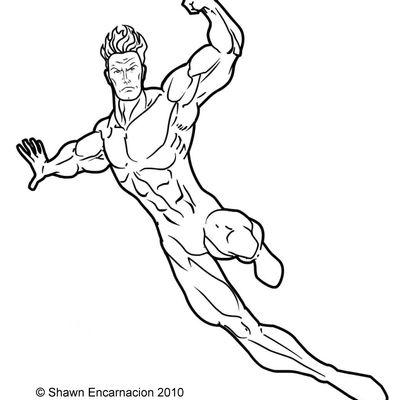 400x400 Super Hero Man Drawing Girl Superhero Drawings