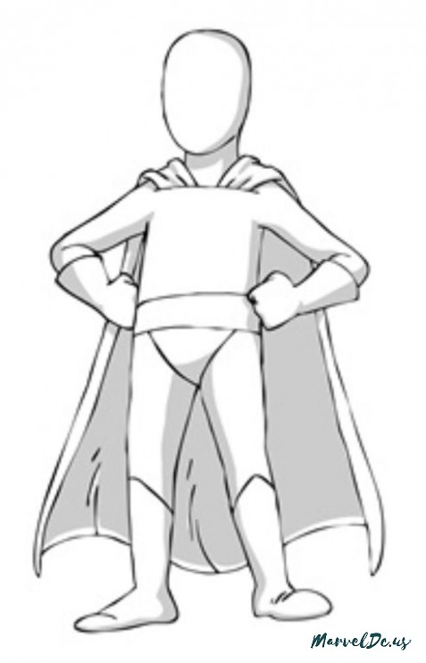 477x742 19 Reasons Why Superhero Drawing Template For Kids Is Common
