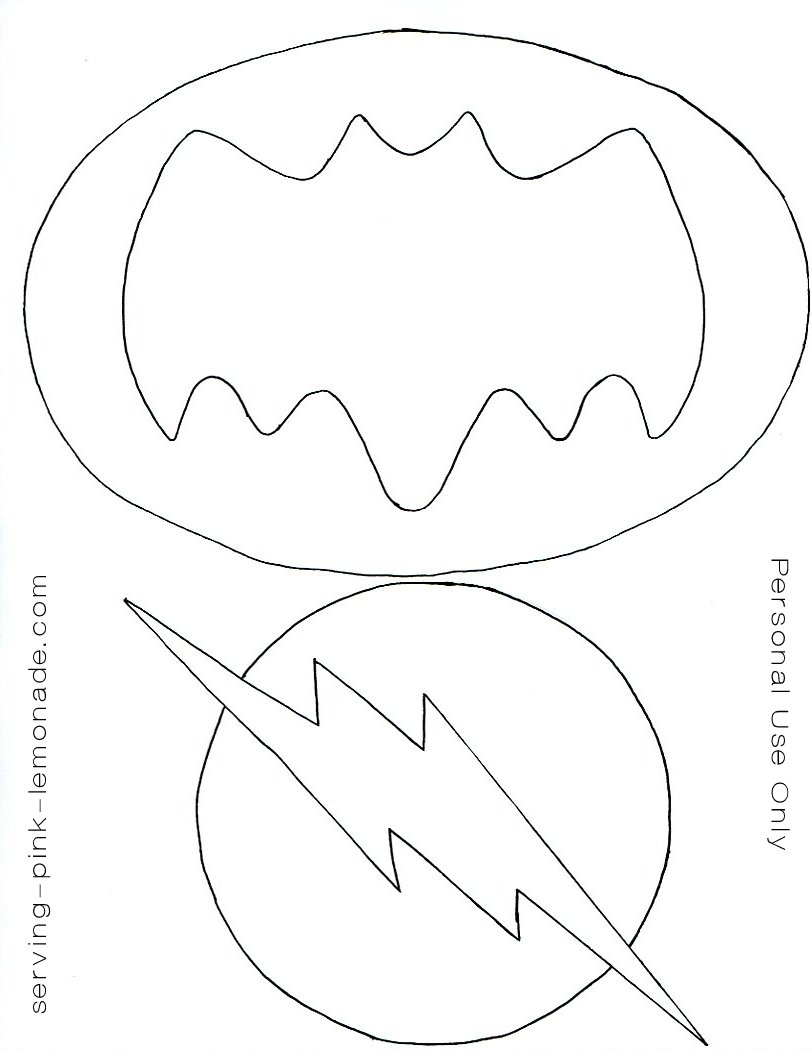 812x1051 Serving Pink Lemonade Super Hero Party (Free Templates Included)