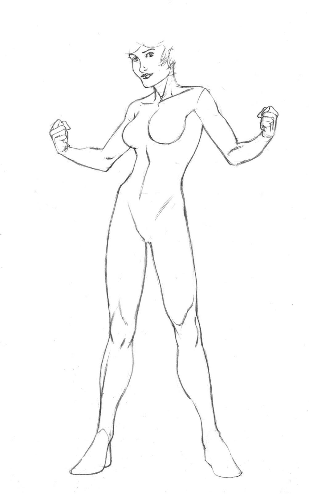 1003x1600 Character Turnarounds And Figure Templates Robert Atkins Art