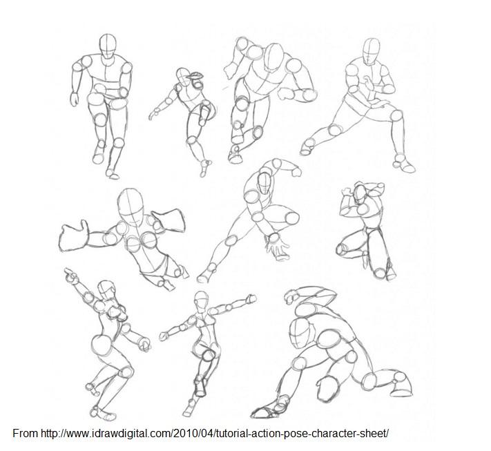 711x653 Papier Mache Action Figures By Year 9 Teacher Lem's Art Class