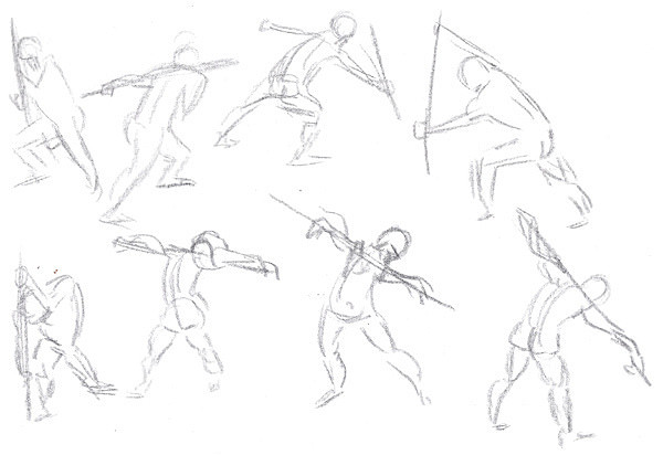 600x412 Rafi Animates Gesture Drawing Action Poses