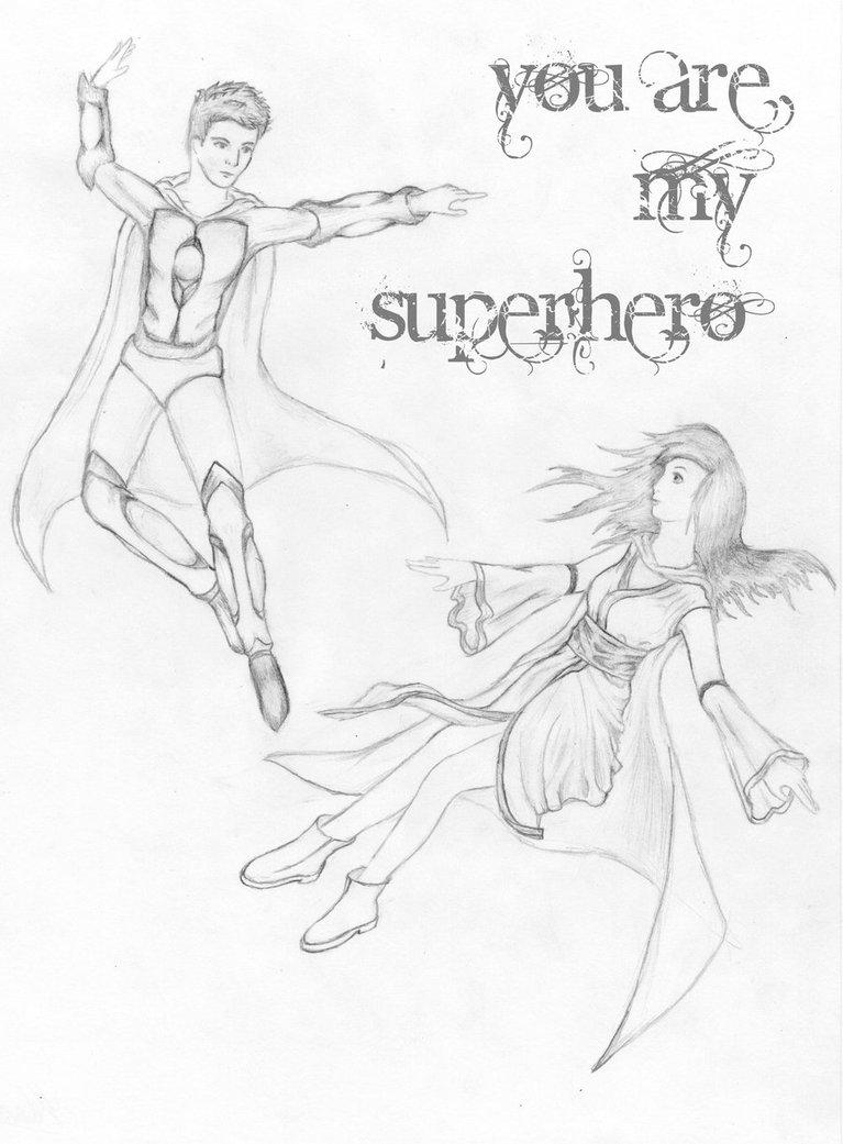 767x1041 You Are My Superhero By Quiescentdelirium