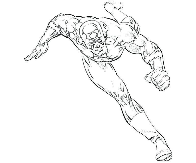 800x667 Amazing Flash Superhero Coloring Pages Fee Superheroes Printable
