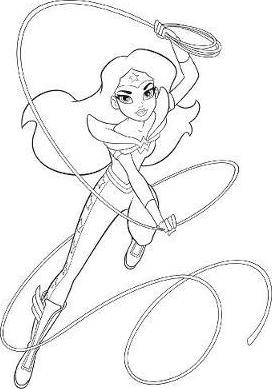 272x389 Dc Super Hero Girls A Kids Coloring Book Tp Various 9781401274580