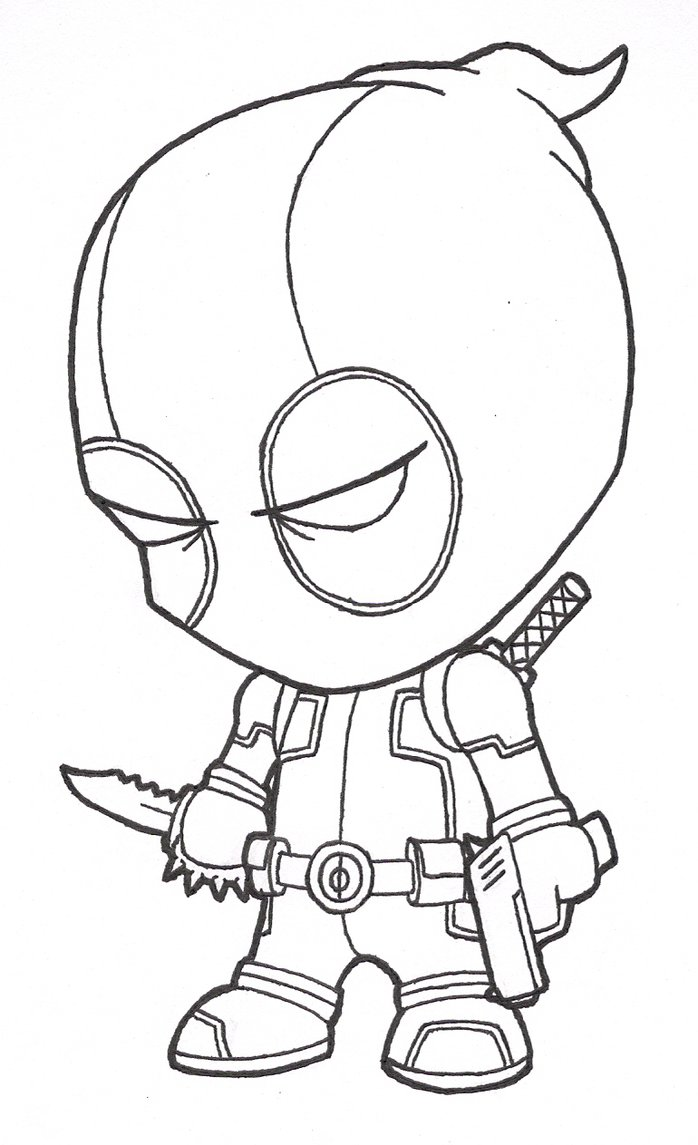 Superhero Outline Drawing at GetDrawings.com | Free for personal use ...