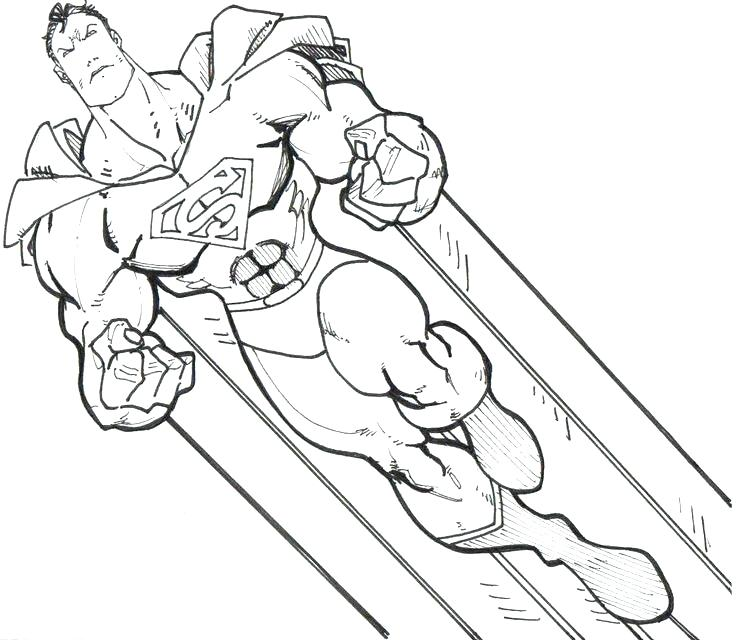 736x640 Superhero Coloring Pages Free Coloring Download Image Mesmerizing