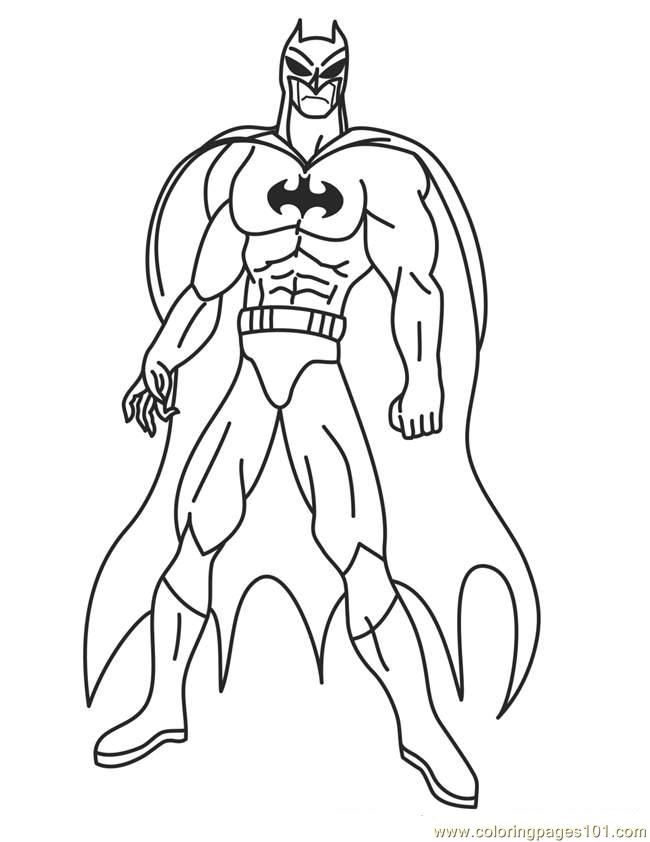 650x842 Super Hero Printable Coloring Pages