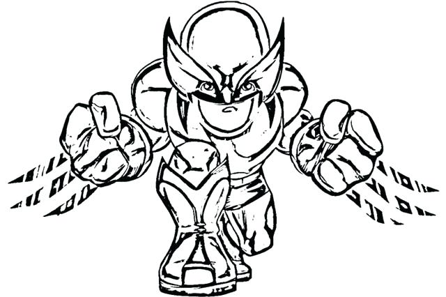 640x426 Superhero Capes Coloring Pages