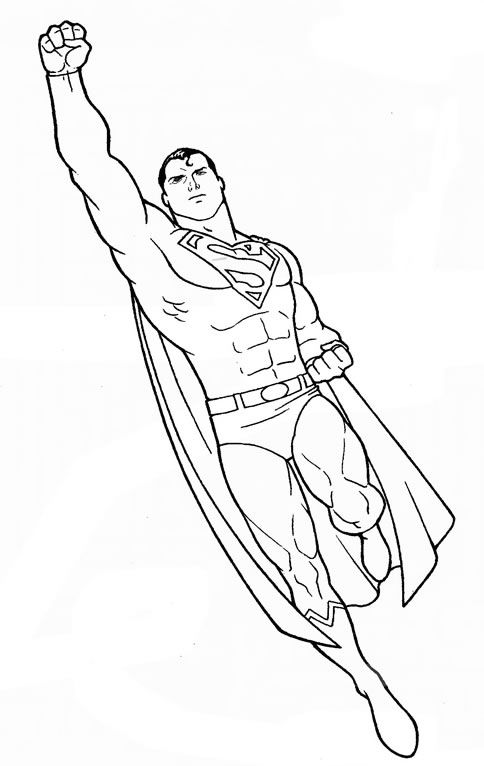 Superman Cartoon Drawing At Getdrawings Com Free For Personal Use