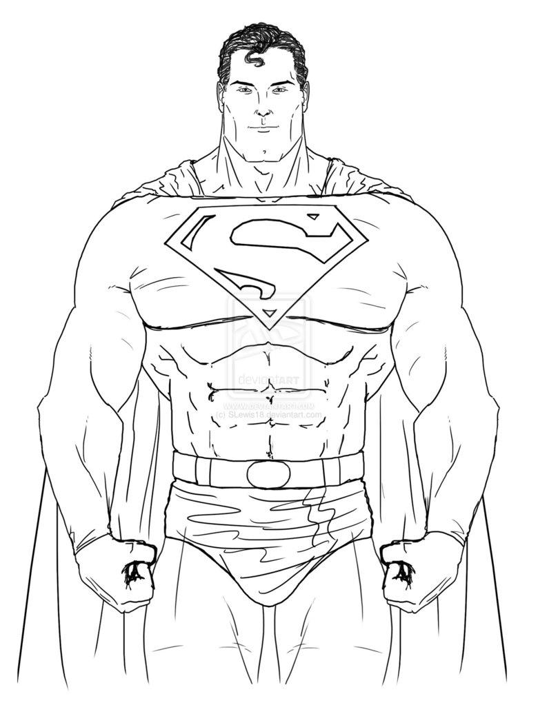 780x1023 Superman Cartoon Drawing Drawn Superman Supe