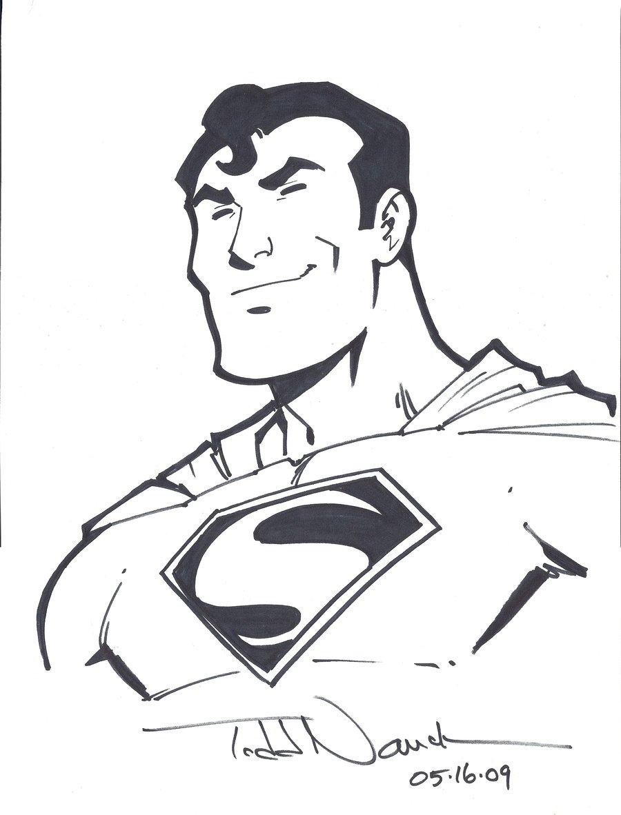 900x1182 Superman By Todd Nauck By Comicbookartfiend