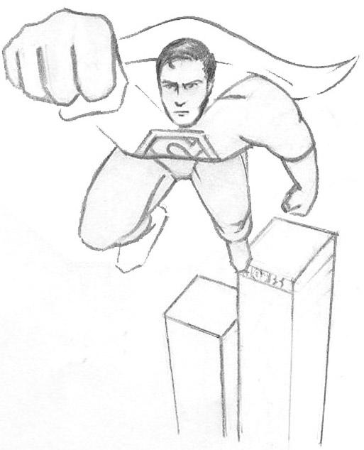 513x634 Sketch Please Superman