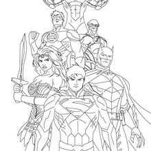 220x220 Superman Coloring Pages, Videos For Kids, Drawing For Kids