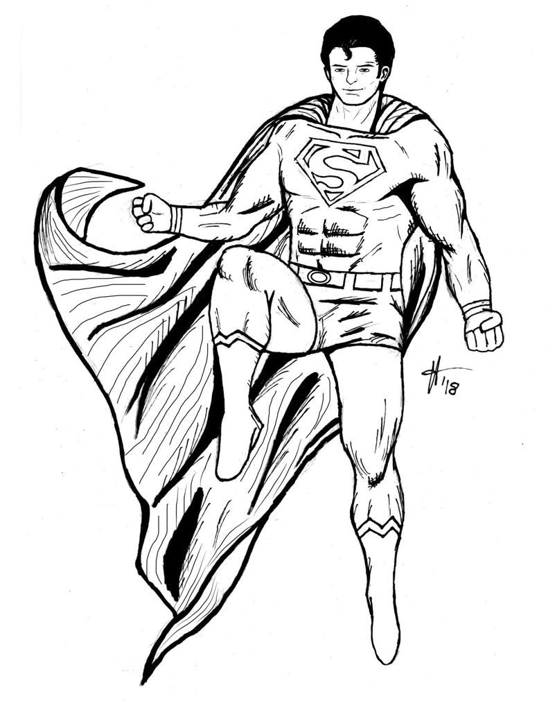 791x1024 Superman Drawing! Dc Universe Amino Amino