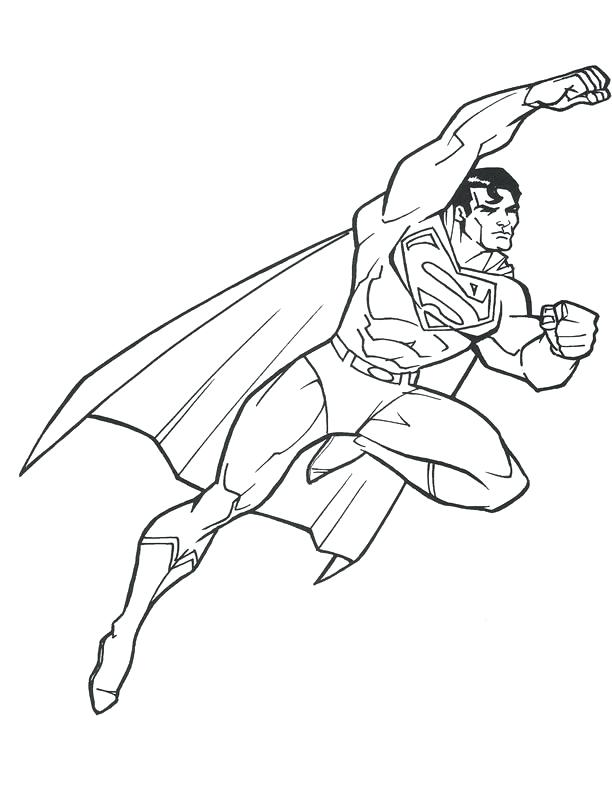 Superman Drawing at GetDrawings.com | Free for personal use Superman ...