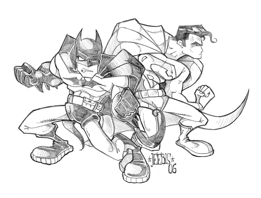 865x655 Superman And Batman By Dmeaves