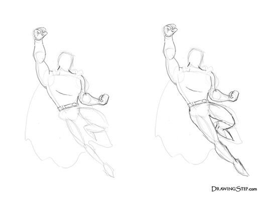 Superman Drawing Easy