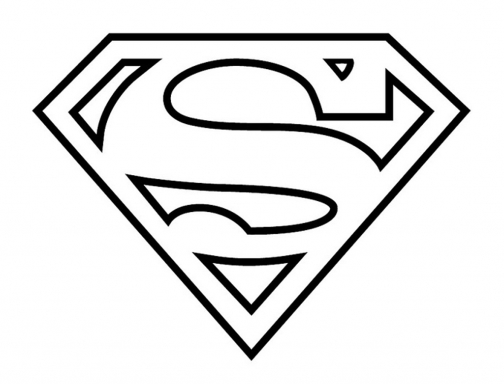 Superman Drawing Easy At Getdrawings Free For Personal Use