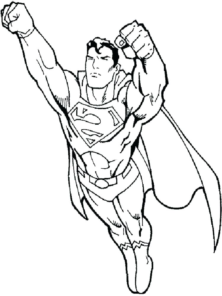 750x1000 Superman Coloring Book Together With Superman Picture To Color Pin