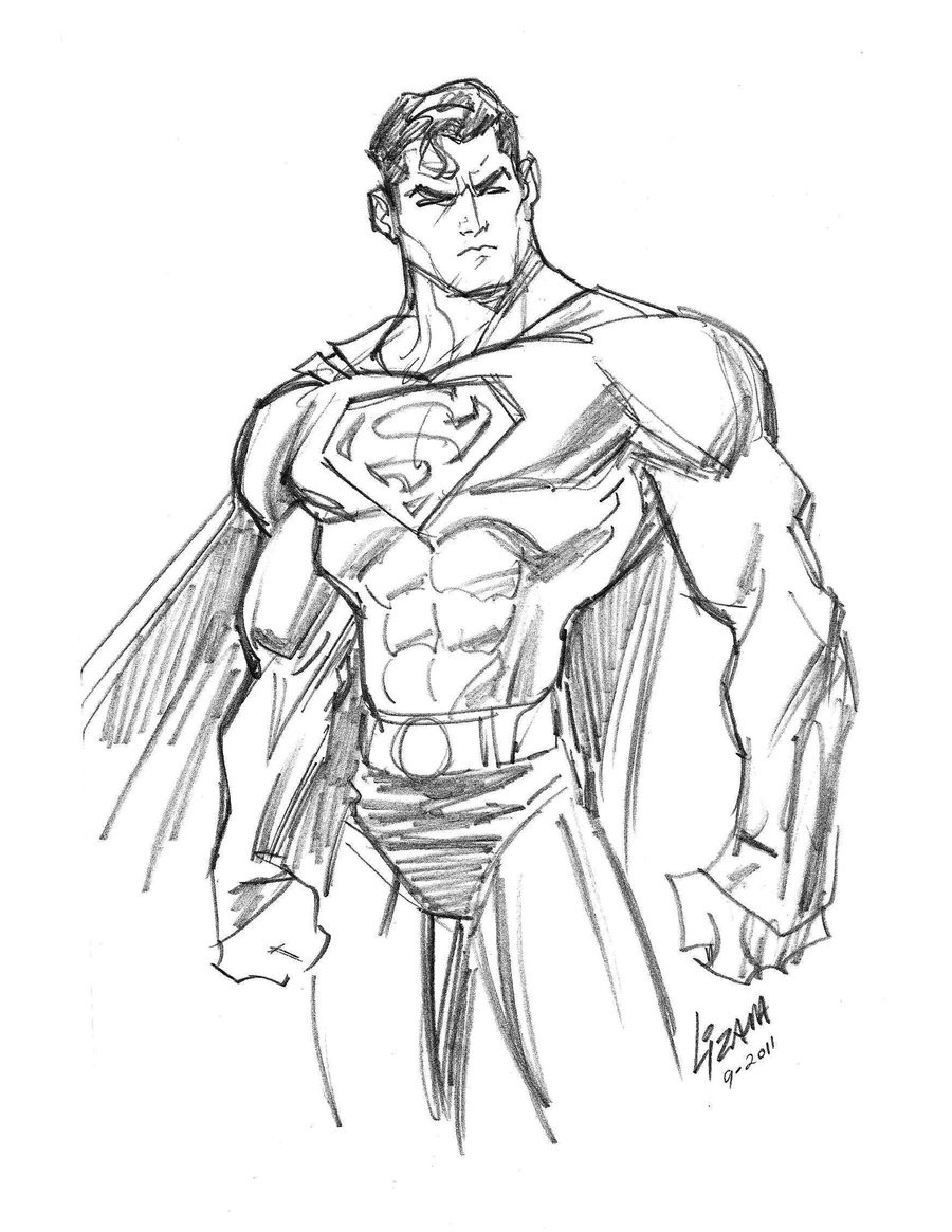 900x1165 Photos Drawing Pictures Of Superman,