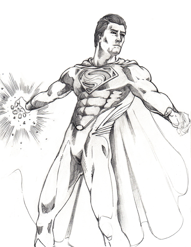 613x792 Dennis M. Sweatt Comic Book Creations And Design! Man Of Steel