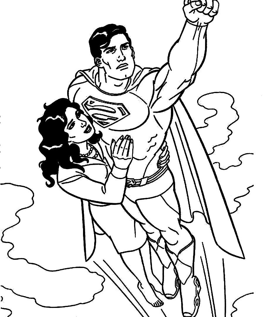 900x1080 Get This Printable Superman Coloring Pages Incredible Cartoons
