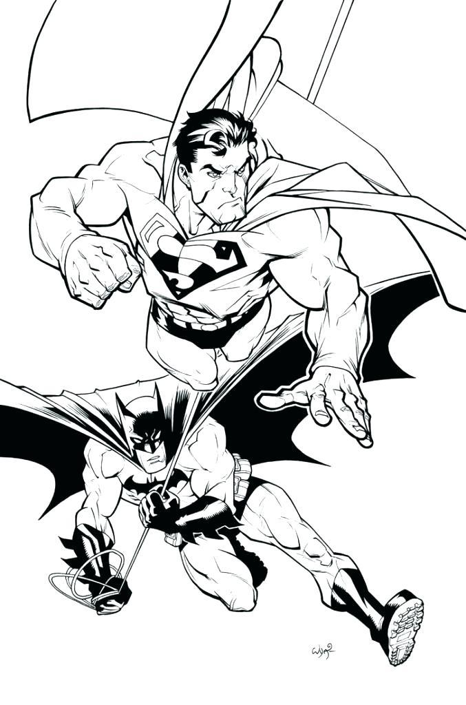 677x1024 Superman Color Page Superman Coloring Book Batman Logo Coloring